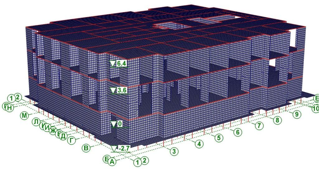 Расчёт жилой комплекс Калина Парк