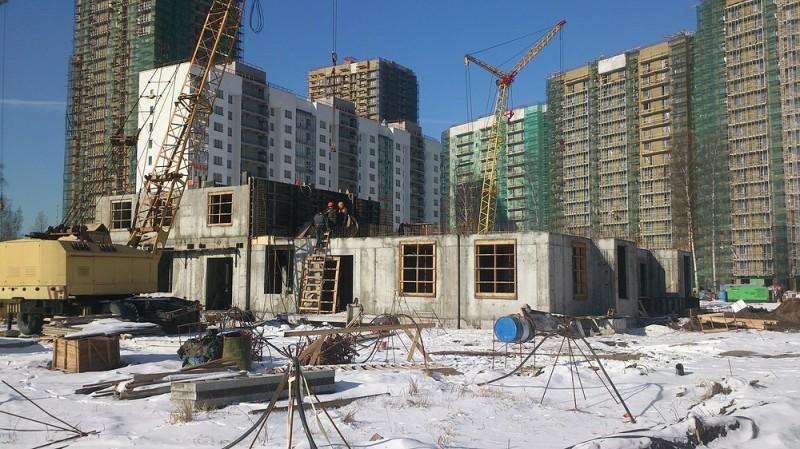 Вторая очередь строительства жилого комплекса Калина-Парк